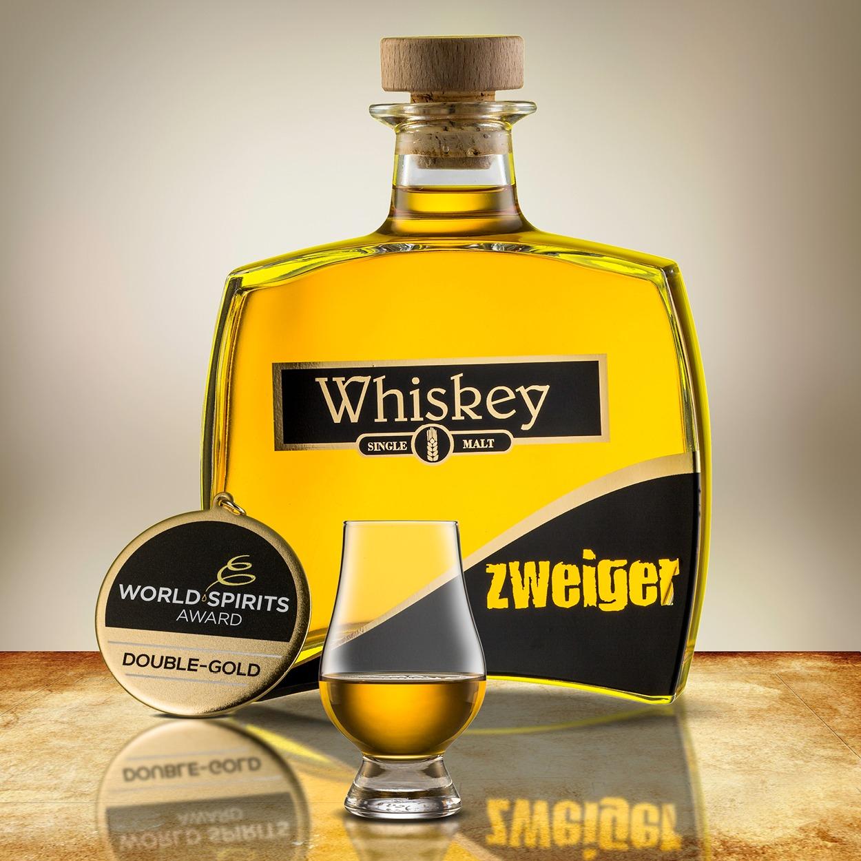 Single Malt Whiskey Destillerie Zweiger