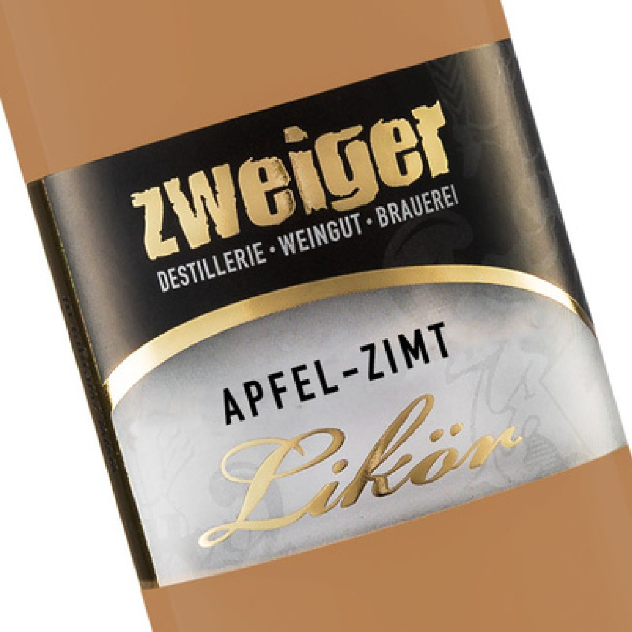 Cremelikör Apfel Zimt Zweiger Destillerie