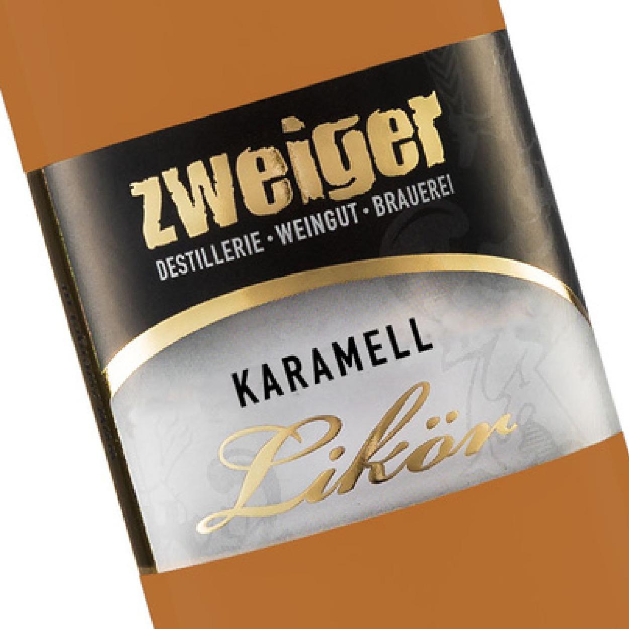 Karamell Cremelikör Zweiger Destillerie