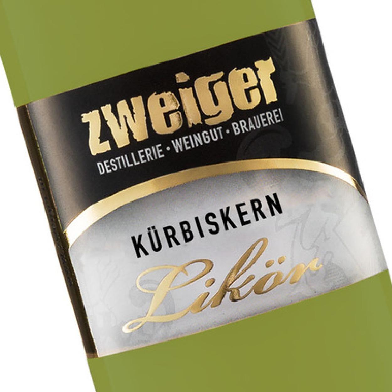 Kürbissen remelikör Zweiger Destillerie