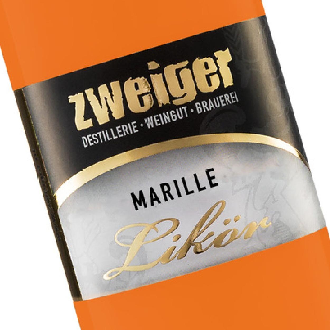 Marille Cremelikör Zweiger Destillerie