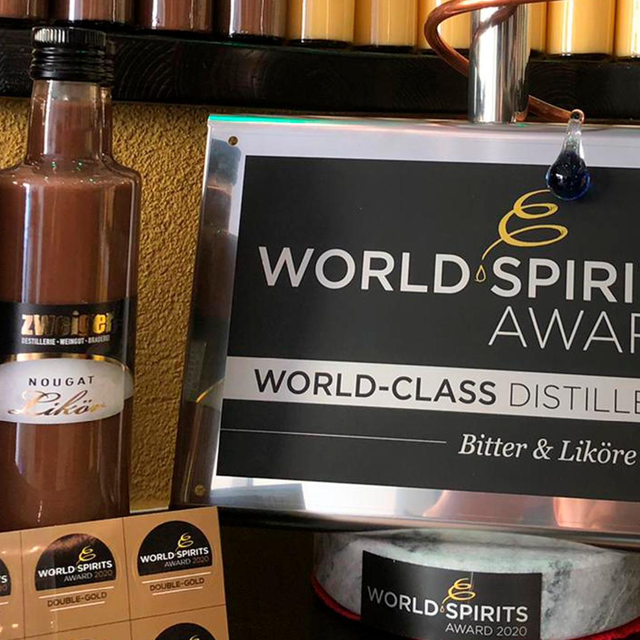 Nougat Cremelikör Zweiger Destillerie World Spirit